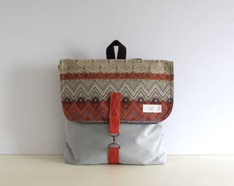 Canvas Backpack, Rucksack Backpack, Travel Backpack, Women Backpack, Laptop Backpack, Gift for Her, Bohemian Backpack, Boho Backpack, Ethnic