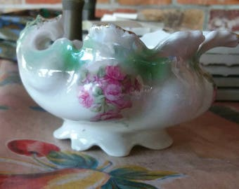 Antique Vintage Little Cream Pitcher Very Sweet EARLY 20th Cent Porcelain Perfect Condition