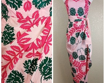 Deadstock Mamo Howell Vintage Sarong Hawaiian Dress
