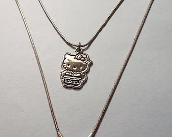 Hello Kitty Necklace, Hello Kitty, Necklace by Sanrio, Sanrio