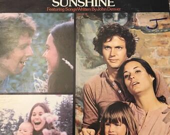 Sunshine Original Motion Soundtrack Record LP