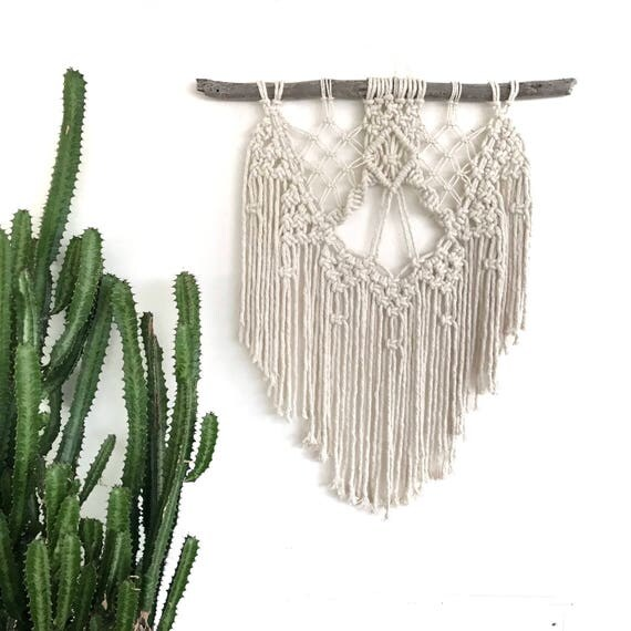 "Macrame Wall Hanging ""Dharma"" READY TO SHIP"