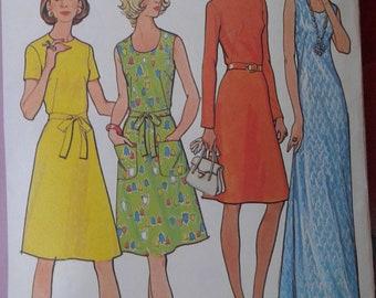 Vintage McCall's 3184 Dress Pattern - Size 12 1/2