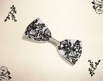 Baroque inspired hair bow