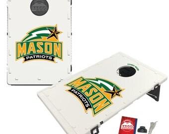 George Mason University Patriots Baggo Cornhole Game Designs
