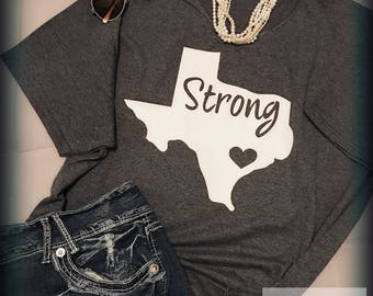 Texas Strong come hell or high water