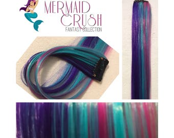 "MERMAID CRUSH 18"" Clip-In Hair Extension Set - 4 PIECES!"