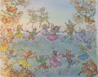 Medici Society Children's Book - The Runaway Fairy by Molly Brett