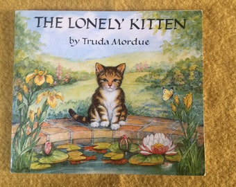 Medici Society Children's Book - The Lonely Kitten by Truda Mordue