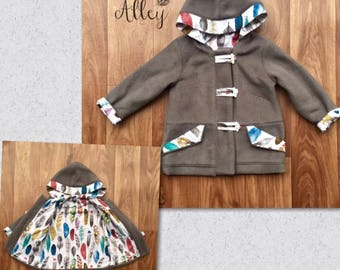 Childrens Duffle Coat size 3-4