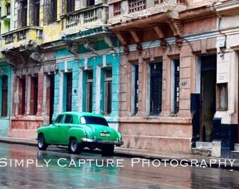 Cuban Street Print