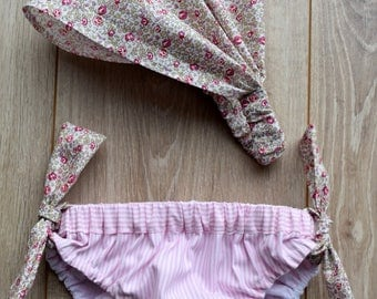 Swimsuit for girls in liberty