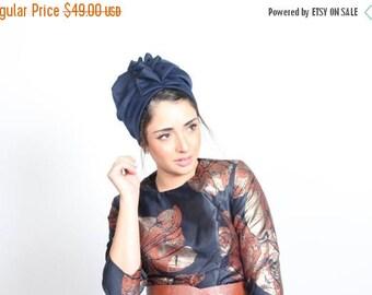 Summer sale 10% OFF hair turban, fashion turban, fashion hat, turban hijab, cancer hat, blue turban, blue head turban, full turban