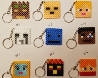 Minecraft Biome Party favor pack - Set of 9