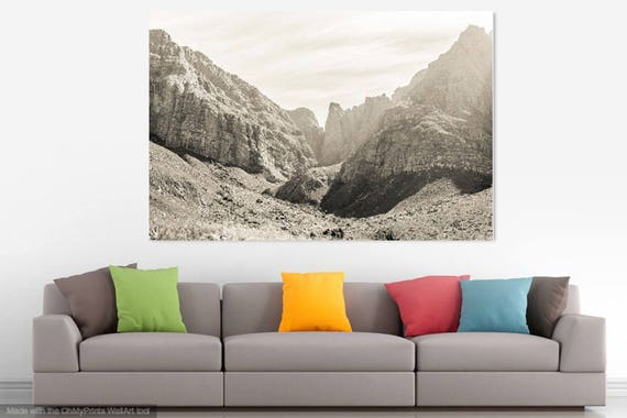 WESTERN CAPE MOUNTAINS. Dramatic Mountains, South Africa, Mountain Range, Limited Edition, Black and White, Travel Photography