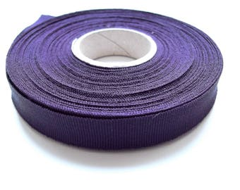 Ribbon stripe grosgrain Ribbon 15 mm purple Milliner premium quality