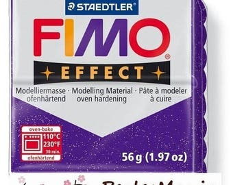 1 roll 56g polymer FIMO EFFECT lilac sequin 8020-602