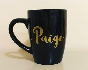 Coffee Mug- Personalized Mug- Custom Mug- Name Mug- Different Fonts Available