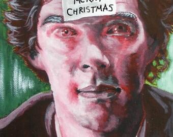 Christmas Sherlock [PRINT]