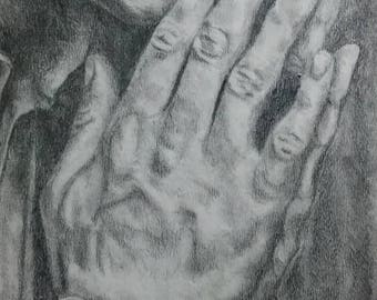 A Study in Hands [PRINT]