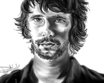 Ben Whishaw Digital [PRINT]