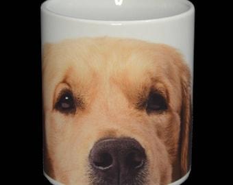 Mug - Golden Retriever Dog 11oz Ceramic Mug