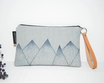 Graphic cover / fabric clutch / cookie fabric Tote / jewelry pouch / travel bag / pouch smartphone