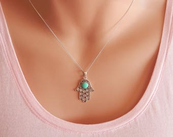 hamsa hand necklace hamsa necklace sterling silver hamsa necklace hand of fatima necklace hamsa hand jewellery hamsa choker hamsa pendant