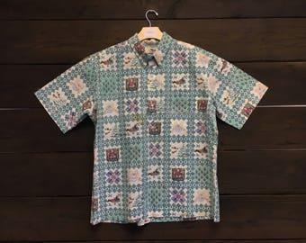Vintage 70's Reyn Spooner Xmas Hawaiian