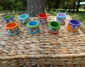 Napkin rings - Hand Painted