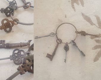 Old pirate keys