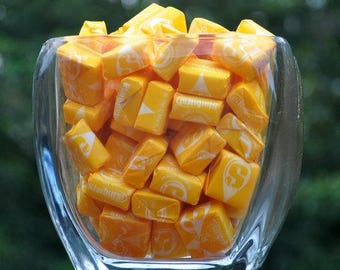 One pound of yellow lemon Starbursts