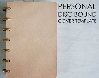Personal Disc Bound Cover Template