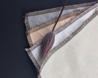 Fabrics samples. Natural linen fabrics. Natural HEMP fabrics. Fabrics for home textile.