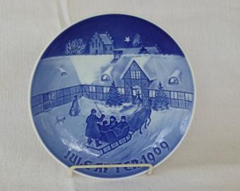 Vintage Bing & Grondahl 1969 Christmas Plate