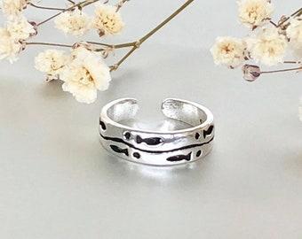 Toe Ring, Silver Fish Toe Ring, Toe Bands, Simple Toe Ring,Minimalist Toe Ring, Bohemian Toe Ring TS116