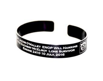 O'Malley, Hawkins, McElroy Memorial Bracelet.