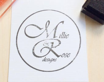 Custom logo stamp - Design your own stamp - Logo rubber stamp - Use your logo stamp - Custom rubber stamp - Custom logo stamp - Ink stamps