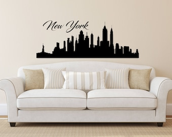 Elegant New York Wall Decal | Etsy Part 14