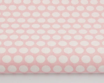 100% cotton fabric given in the row on a coral background pastel print 50 x 160 cm, 100% cotton