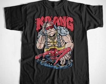 T-Shirt Krang S M L XL 2XL 3XL 4XL Turtels Shredder Footsoldier Kult Comic