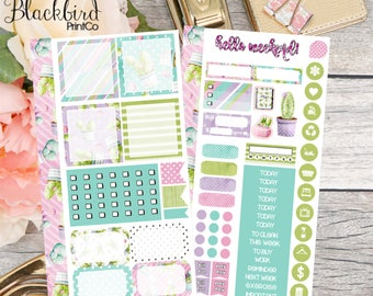 Sweet Succulents | Personal Planner Stickers