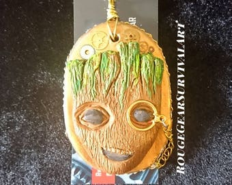 Steampunk Groot with Monocle