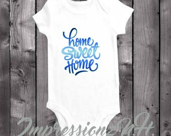 New arrival onesie - New Baby one-piece bodysuit shirt for bringing home the baby!