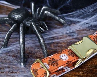 Perfect Pumpkin Halloween Dog Collar