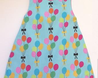 balloon girl tunic dress