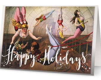 Circus Holiday Cards