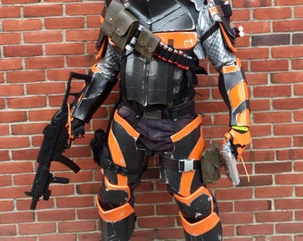 Deathstroke Armor Costume 2nd of 2 equal payments. First payment listing must be purchased before buying this option.