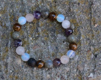 Multi gem diffuser bracelet