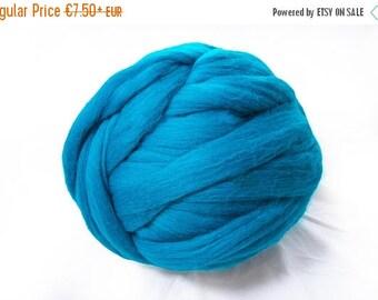 SALE Chunky yarn, Giant yarn, merino wool, super big bulky, arm knitting, felting blanket, Giant blanket, Chunky Throw, diy, yarn for big bl